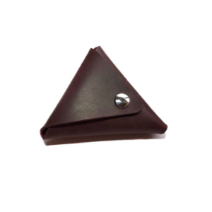 Monedero triangular