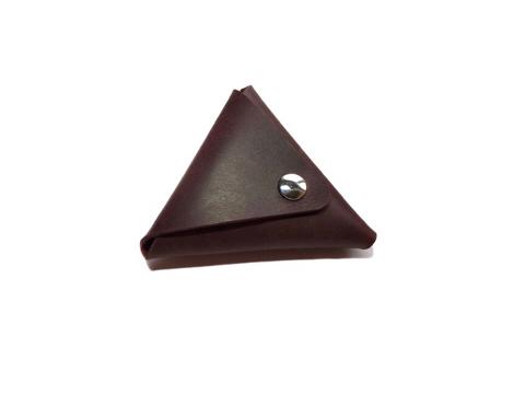 Monedero triangular