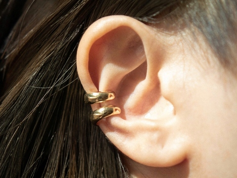 Ear Cuff Essential Gold